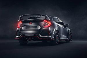Honda Surprises Paris with a New Civic Type R