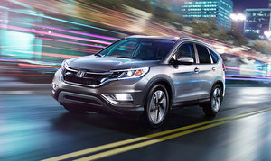 2015 Honda CR-V: several notable improvements