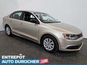 2013 Volkswagen Jetta Sedan Trendline+ AIR CLIMATISÉ - Automatique - Sièges Chauffants
