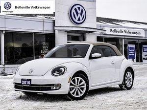 2016 Volkswagen The Beetle Convertible Comfortline 1.8T 6sp at w/Tip