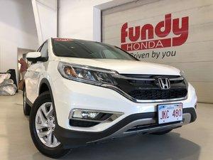 2015 Honda CR-V EX w/sunroof, alloys, power driver seat DEALER SERVICED