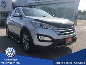 2013 Hyundai Santa Fe AWD Limited With Low Kilometers