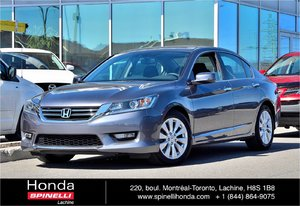 2014 Honda Accord EX-L CUIR TOIT BAS KM LEATHER ROOF LOW KM CLEAN