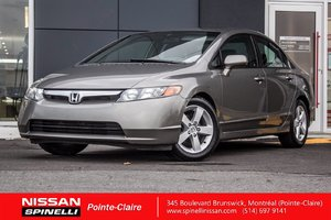 2007 Honda Civic Sdn EX SUNROOF/CRUISE CONTROL/16'' MAGS