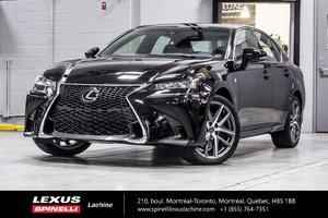 Lexus GS 350 F SPORT II; AUDIO TOIT GPS 2018 NOUVEAU DÉMO - RABAIS DE $ 2,674 DU PDSF