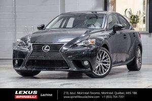 Lexus IS 250 PREMIUM AWD; CUIR TOIT CAMERA 2014 FREIN COMPLET REFAIT EN JUIN 2016
