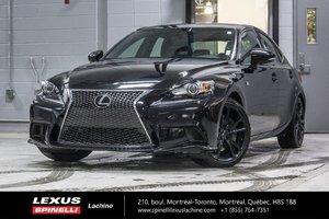 Lexus IS 350 F SPORT III; CUIR TOIT AUDIO GPS 2014 JANTES ÉTÉ + HIVER / ÉCHAPPEMENT SPORT