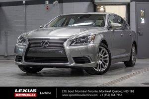 2015 Lexus LS 460 TECHNOLOGIE AWD; CUIR TOIT AUDIO GPS +++ LOW MILEAGE - LIKE NEW - RARE VEHICLE