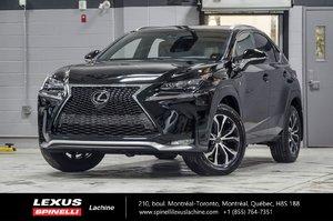 2017 Lexus NX 200t F SPORT III AWD; CUIR TOIT GPS LSS+ $5,219 D'ÉCONOMIE DU PDSF - VÉHICULE NEUF