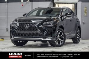 2017 Lexus NX 200t F SPORT III AWD; CUIR TOIT GPS LSS+ $5,219 D'ÉCONOMIE DU PDSF - LIQUIDATION FINAL 2017