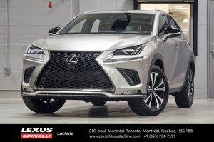2018 Lexus NX 300 F SPORT III AWD; CUIR TOIT GPS LSS+ $7,249 RABAIS DÉMO DU PDSF