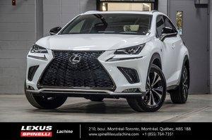 2018 Lexus NX 300 F SPORT III AWD; CUIR TOIT GPS LSS+ $3,979 RABAIS DEMO DU PDSF