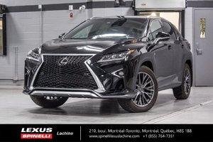 Lexus RX 350 F SPORT II AWD; CUIR TOIT GPS 2017 $5,719 RABAIS DÉMO DU PDSF