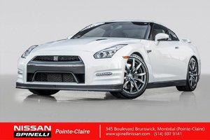 2015 Nissan GT-R PREMIUM EDITION RARE / NAVIGATION / SIÈGES RECARO / CUIR ROUGE /