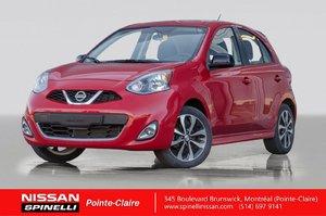2015 Nissan Micra SR AUTOMATIQUE / BLUETOOTH / CAMERA DE RECUL / MAGS 16''