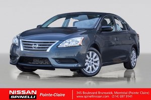 2013 Nissan Sentra S VERY LOW MILEAGE / 1 OWNER / BLUETOOTH /AUTOMATIC