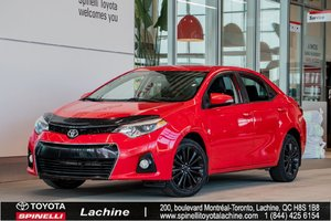 2015 Toyota Corolla S A/C! BACK UP CAMERA! HEATED SEATS! BLUETOOTH! MAGS! SUNROOF! ONE OWNER! HURRY!