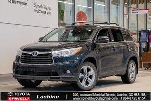 2015 Toyota Highlander Limited - AWD IMPECCABLE! TRÈS ÉQUIPÉ! DÉMARREUR À DISTANCE! GPS! CUIR! CAMÉRA! BLUETOOTH! MAGS! TOIT PANO!