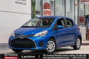 2015 Toyota Yaris LE AIR CLIMATISÉ! BLUETOOTH! SUPER PRIX! FAITES VITE!