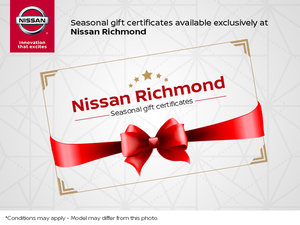Seasonal Gift Certificates