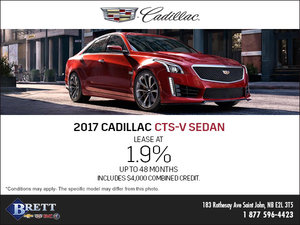 Save on the 2017 Cadillac CTS-V Sedan