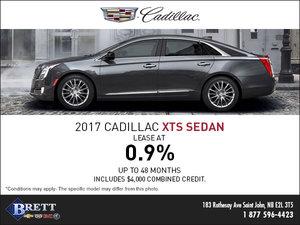 Save on the 2017 Cadillac XTS Sedan