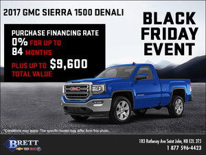 Save on the 2017 Sierra!