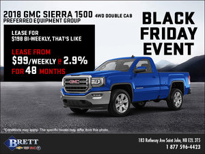 Save on the 2018 GMC Sierra 1500!