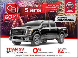 TITAN SV 2018 - 1/2 tonne