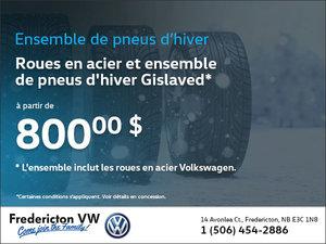 Ensemble de roues en acier et pneus d'hiver Gislaved à partir de 800$