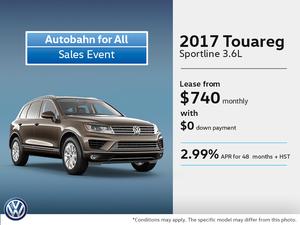 Lease the 2017 Touareg