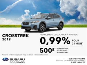 Procurez-vous le Subaru Crosstrek 2019!