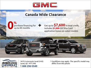GMC's Monthly Sales Event!