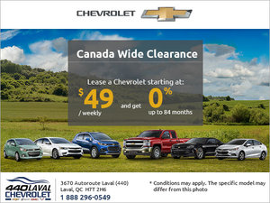Chevrolet's Monthly Sales Event!