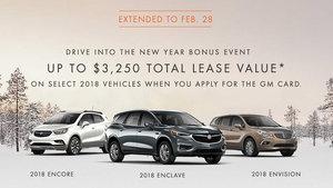 Promotion Buick February 2018