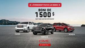 Promotion GMC Mai 2018