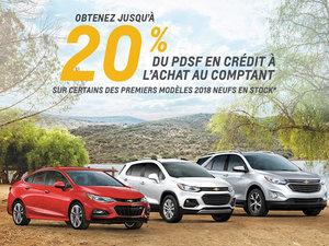 Chevrolet programme Juillet