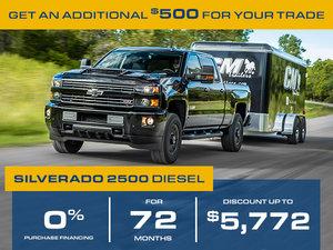 Promotion July Chevrolet Silverado 2500 2018