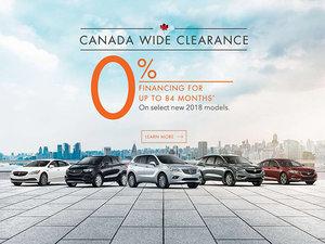 Promotion September 2018 Buick