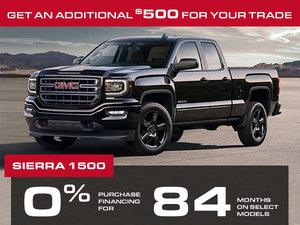 Promotion Sierra 1500 August 2018
