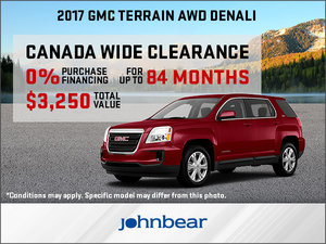 Huge Savings on the 2017 GMC Terrain