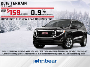Get the New 2018 GMC Terrain Today