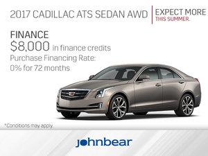 Get the 2017 Cadillac ATS Sedan Today!