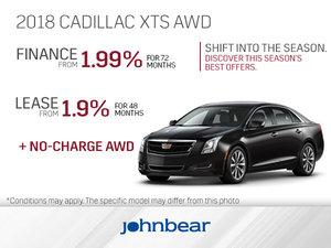 Get the 2018 Cadillac XTS Today!