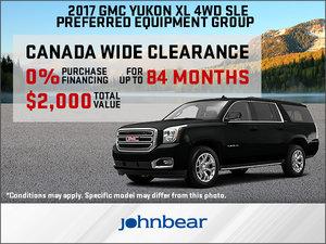 Save Big on the 2017 GMC Yukon XL