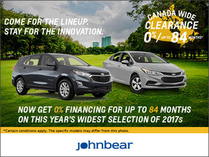Chevrolet's Sales Event!