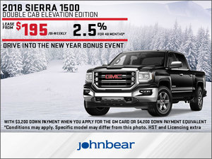Save Big on the 2018 GMC Sierra 1500