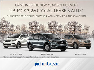 Drive Into the New Year Bonus Event - Buick