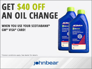 Oil Change Offer