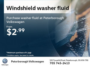 Windshield Washer Fluid from $2.99